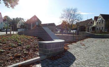 Heidenau-Gommern Dorfplatzgestaltung