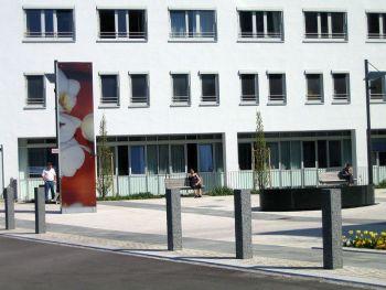 Klinikum Kaufbeuren Gestaltung Außengelände / Parkplatz