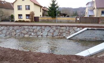 Rottleberode - Instandsetzung der Ufermauern der Thyra