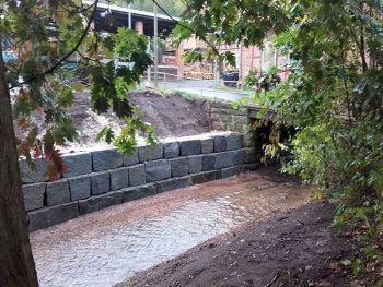 Wasungen Ufermauer