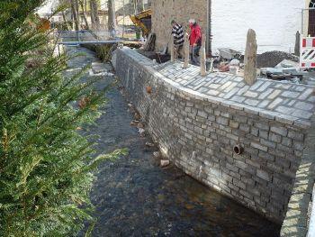 Zwönitz Ufermauer